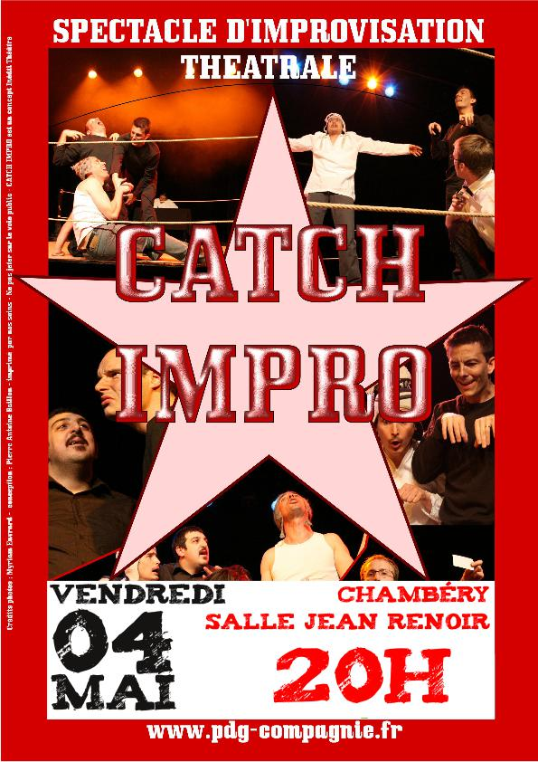 Spectacle : Tournoi de Catch Impro – {date}